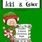 Your students will enjoy racing to see who can finish coloring his or her picture first!  All the while, adding 3 numbers and solving addition prob...