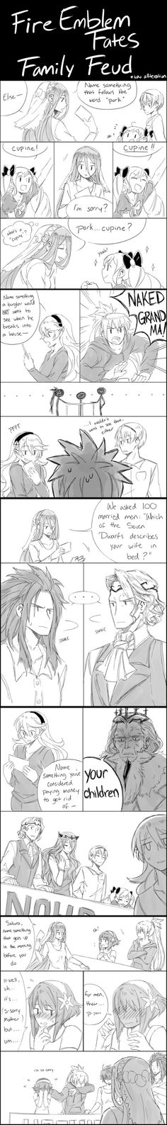 Fire Emblem Fates - Family Feud //I don't even know why I'm pinning this. I don't want to, but at the same time I feel like I have to. /)~(\