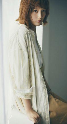 Tsubasa Honda, Mori Girl, Pretty Woman, Hair Beauty, Normcore, High Neck Dress, Womens Fashion, Sexy, Face