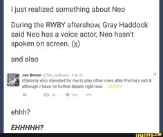 *nonchalantly sips tea, sees this post* ... *submarine alarms* We're going down! Batten down the hatches! (RWBY)