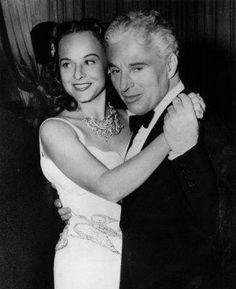 Paulette Goddard & Charlie Chaplin