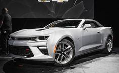 Revealed: The 2016 Chevrolet Camaro SS Convertible
