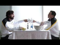 Gli schemi della Juve... nascono a tavola!
