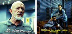 """""""This is how they comfort people in movies."""""""