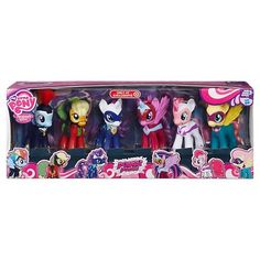 My Little Pony Power Ponies Pack. AJ: It's Time To Power Pony Up!!! Pinkie Pie: Ooooh Nice Catchphrase!!!!!