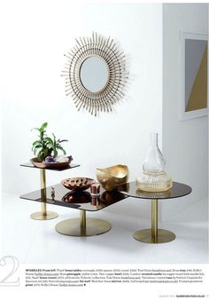 Home I Interior I Furniture I Eating I Flash Sqaure Tables by Tom Dixon