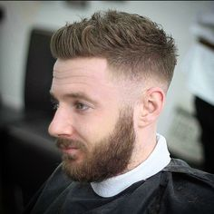 Latest Men Hairstyles, Mens Hairstyles With Beard, Classy Hairstyles, Cool Mens Haircuts, Great Hairstyles, Men's Hairstyle, Barber Haircuts, Men's Haircuts, Best Barber