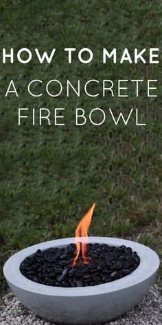 51 New Ideas for concrete patio ideas fire bowls Backyard Projects, Outdoor Projects, Garden Projects, Backyard Ideas, Diy Projects, Patio Ideas, Outdoor Ideas, Outdoor Spaces, Concrete Fire Pits