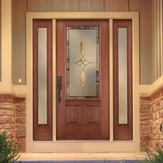Thermatru Fiber Classic Entry Door with sidelights FCM765_E