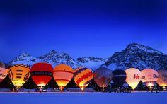 Hot Air Balloons, Arosa, Switzerland, #travel, #hotairballon, #photography, #switzerland, #inspiration