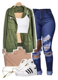 """Untitled #1373"" by queen-tiller ❤ liked on Polyvore featuring Givenchy, Topshop and adidas"