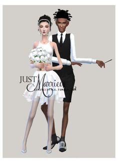 Just Married, Sims 4, Movie Posters, Movies, Art, Films, Art Background, Film Poster, Popcorn Posters