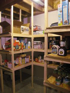 The Wessman Family: Food Storage Room