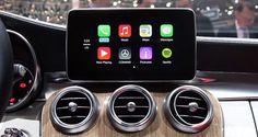 MFI - Made for iPhone: Apple CarPlay in neuer 2014 C-Klasse von Mercedes-Benz (Video) - http://apfeleimer.de/2014/03/mfi-made-for-iphone-apple-carplay-in-neuer-2014-c-klasse-von-mercedes-benz-video - Über die iOS in the Car Umsetzung Apple CarPlay hatten wir bereits hier anhand erster C-Klasse Screenshots sowie dort durch Bilder vom Autosalon Genf beim neuen Ferrariberichtet. Jetzt sehen wir erstmalig das neue Apple iOS im Auto Feature CarPlay bei der neuen 2014 Mercedes B
