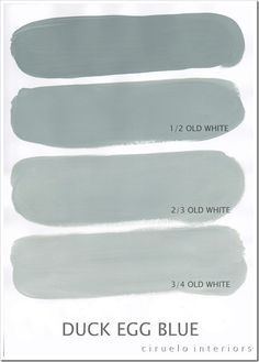 Annie Sloan Chalk Paint Extended Colours Range + this site shows the different shades of ASCP when mixed with Old White. This is an excellent post an excellent reference to have if you use Annie Sloan Chalk Paint! Do It Yourself Inspiration, Color Inspiration, Colour Schemes, Color Combos, Paint Combinations, Color Palettes, Decoration Shabby, Annie Sloan Paints, Annie Sloan Chalk Paint Colors
