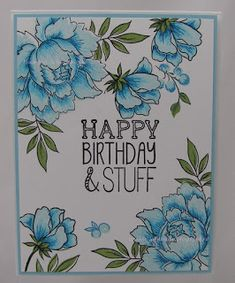 Kaarten à la Janette: Altenew Peony Bouquet birthday card