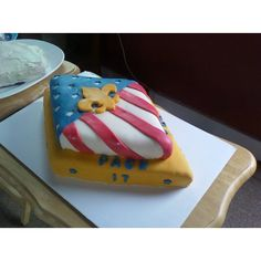 Boy scouts cake - when they get their eagles?