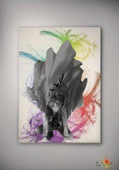 Fullmetal Alchemist Edward Elric Watercolor Art Print 8x10 11x16 Wall Art Poster Giclee Wall Anime Art Home Decor Wall Hanging Modern Geek on Etsy, 62,50 zł