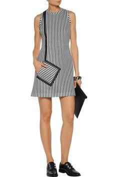 Jacquard-knit mini dress | MSGM | US | THE OUTNET