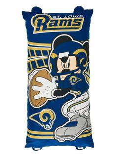 Rams Mickey Mouse Body Pillow