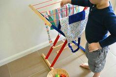 How we Montessori Shop - Child's Clothes Line