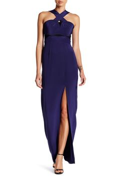 Cross Strap Gown by Yigal Azrouel on @nordstrom_rack