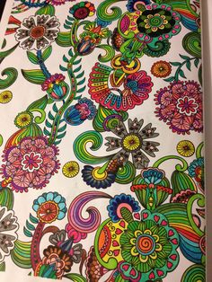 Coloring pages for grown up.  Check out my blog @ redbirdmuse.blogspot.com  Or follow me on Facebook/Redbird Muse