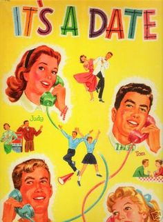 'IT'S A DATE' PAPER DOLLS 1956.I Got This From Ebay - MaryAnn - Picasa Web Albums