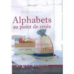 Alfabets en point de croix 14745/1 - Libros - DMC