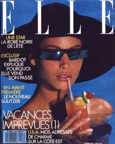 Turlington for Elle Magazine, 1987 -Christy Turlington for Elle Magazine, 1987 - Playboy July 1965 Gift Present Glamour Vintage Retro Original Magazine oey Thorpe cover model VFILES Boujee Aesthetic, Aesthetic Collage, Aesthetic Vintage, Aesthetic Photo, Aesthetic Pictures, Collage Mural, Bedroom Wall Collage, Photo Wall Collage, Picture Collages