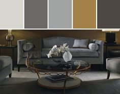 ARCHETYPE SOFA Living Room Designed By Baker Furniture via Stylyze
