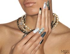 Chanel Inspired MISS x MINX nail wraps