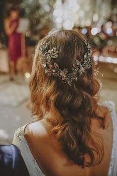 Free-spirited Costa Blanca Wedding with a Doughnut Display To Steal Your Heart ⋆ Ruffled Elegant Wedding Gowns, Luxury Wedding Dress, Wedding Veils, Wedding Attire, Cinderella Wedding, Princess Wedding Dresses, Bridal Headpieces, Bridal Hair, Boho Headpiece