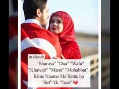 Whatsapp Status For Girls, Whatsapp Emotional Status, Happy Girl Quotes, Happy Girls, Best Urdu Poetry Images, Love Poetry Urdu, Cute Couples Goals, Couple Goals, Islamic Nasheed