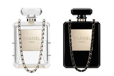 The Chanel No. 5 Bottle Bag: love it!