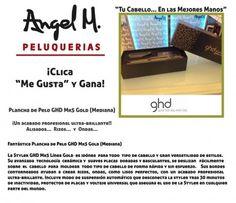 """""""Clica y Gana""""  una Fantástica """"Plancha de Pelo GHD Mk5 Gold (Mediana)"""