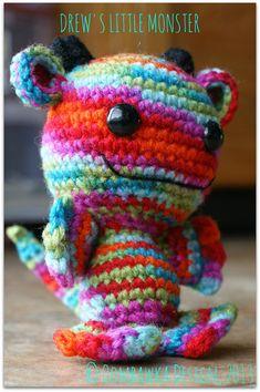 Drew's Little Monster - Crochet Pattern