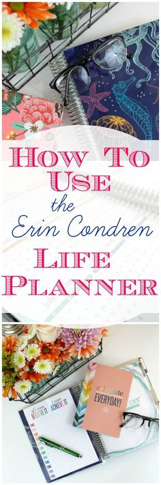 How to Use the Erin Condren Life Planner. I've decided to purchase another one for 2017. Here's why I love this planner. Click through to read more or pin now and read later.