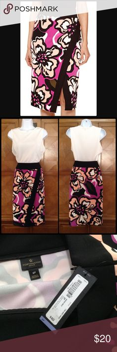 "Orchid Emile Skirt Floral Worthington petite skirt. New. Measurements: Length=26 1/2"". Waist=13 3/4"". Worthington Skirts"
