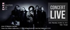 Hey! Hey! Hey! Show some 'Love Love Love' for your favorite band Of Monsters And Men. Yup, you heard it right! The very talented group is coming to the legendary Saint Paul, Minnesota on Oct 1st, 2015 to bring the house down.