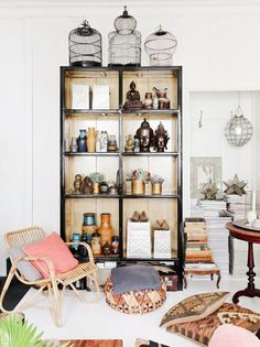 Shop the Room: A Well-Traveled Reading Corner via @MyDomaine