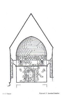 Section of an Anatolian Seljuk kümbet