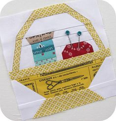 Patchwork 318 Bee - Sewing Basket For Amisha | by Charise *