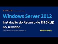 Instalação do Recurso de #Backup no Windows Server 2012 R2
