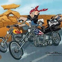 Biker Stuff Looney Tunes