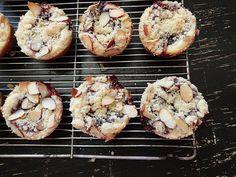 Blackberry Cream Cheese coffee mini cakes.