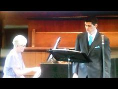 """Thoughts and stories, by Pal and Wayne: 758. Ben Lieske singing """"Questa o quella"""" from the..."""