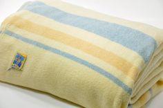 Possible bed styling?  Kenwood Wool Blanket. $48.00, via Etsy.