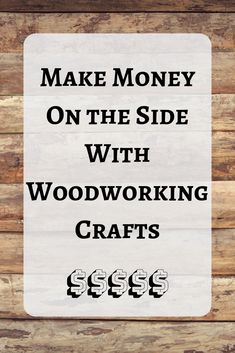 A very comprehensive article with 42 ideas and tips on how to make money from your woodworking crafts. If youre looking for a side hustle in crafts, check out this article. projects tips woodworking Learn Woodworking, Woodworking Skills, Easy Woodworking Projects, Woodworking Techniques, Woodworking Furniture, Custom Woodworking, Teds Woodworking, Woodworking Jigsaw, Popular Woodworking