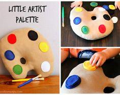 Artist Palette Cake Template : artist palette template printable - Google Search ...